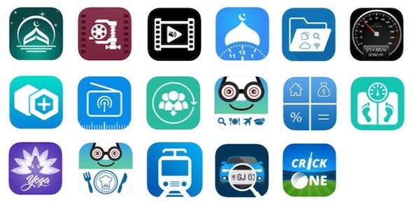 AppStoreトロイの木馬感染アプリアイコン