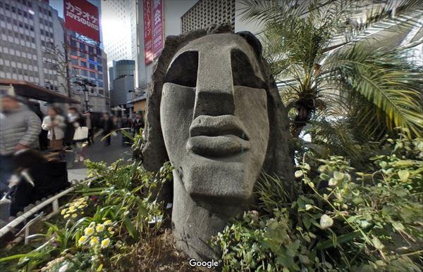 渋谷モヤイ像 Google地図