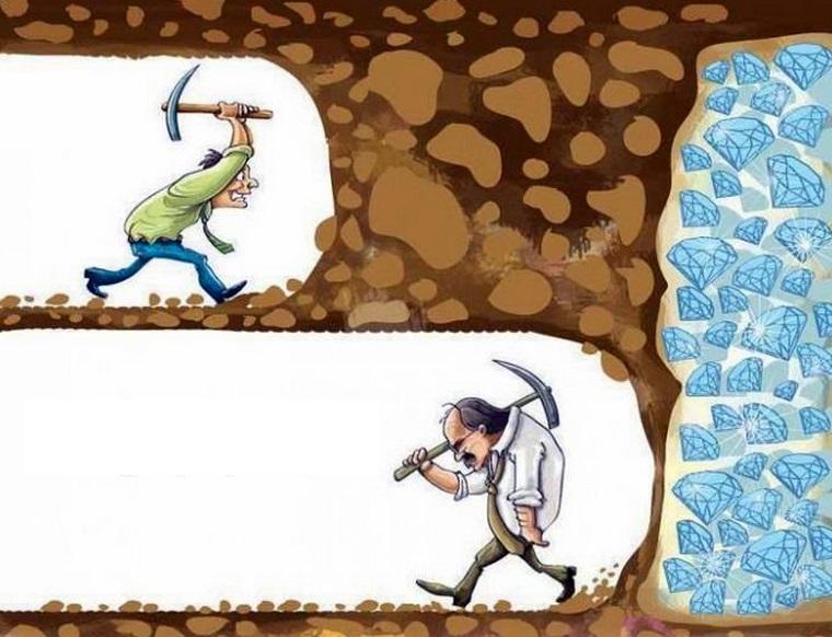 成功する人と失敗する人