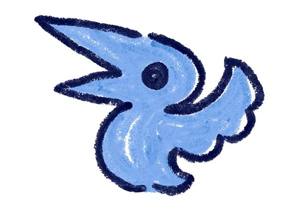 青い鳥のアイコン